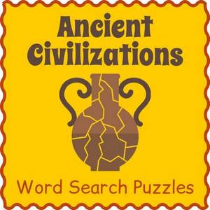 Ancient Civilizations Word Search Bundle