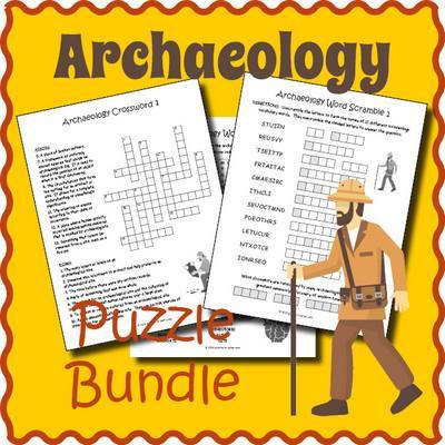 Arhaeology Puzzle Bundle Cover