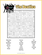 Beatles Word Search thumbnail