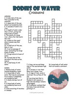 photograph relating to Fun Crossword Puzzles Printable named Printable Crossword Puzzles for Children