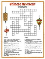 Chinese New Year Crossword