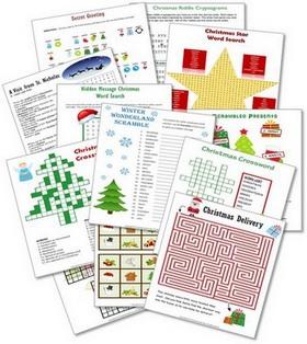 Christmas Puzzle Bundle preview