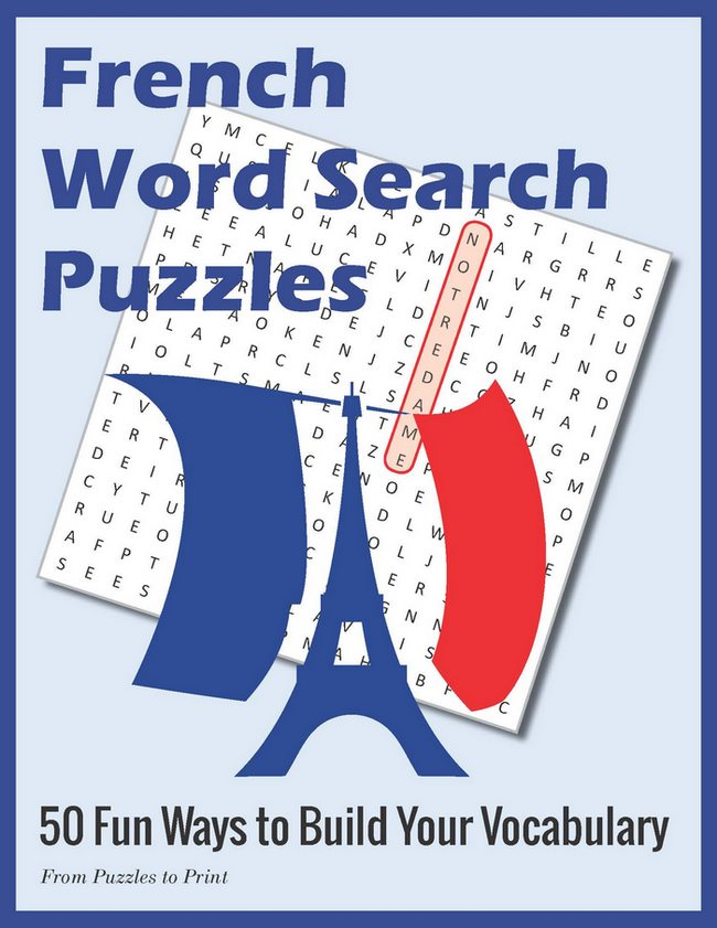 French Word For Wardrobe: French Word Search Puzzle Book