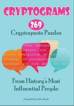 Cryptoquote Sample 2 - Printable Cryptogram Puzzles