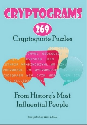 image relating to Cryptoquip Puzzles Free Printable titled Printable Cryptogram Puzzles