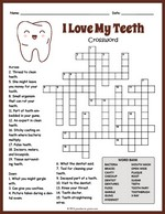 photograph regarding Easy Crossword Puzzles Printable named Printable Crossword Puzzles for Youngsters