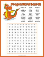 Dragon Word Search
