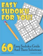 Easy Sudoku for You Cover