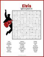 Elvis Word Search thumbnail