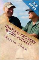 English Idioms and Proverbs Cryptogram Book