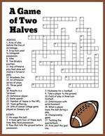 Football Crossword thumbnail