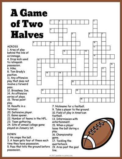 graphic about Sports Crossword Puzzles Printable known as Soccer Crossword
