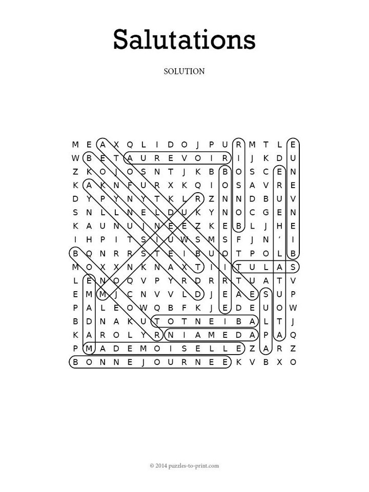 French salutations word search m4hsunfo