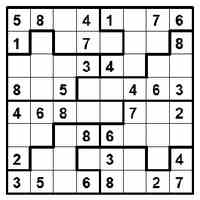 image relating to Printable Sudoku Grid referred to as Cost-free Printable Sudoku