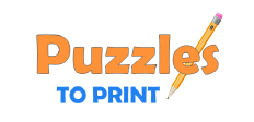 Puzzles to Print logo