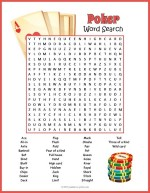 Poker Word Search thumbnail
