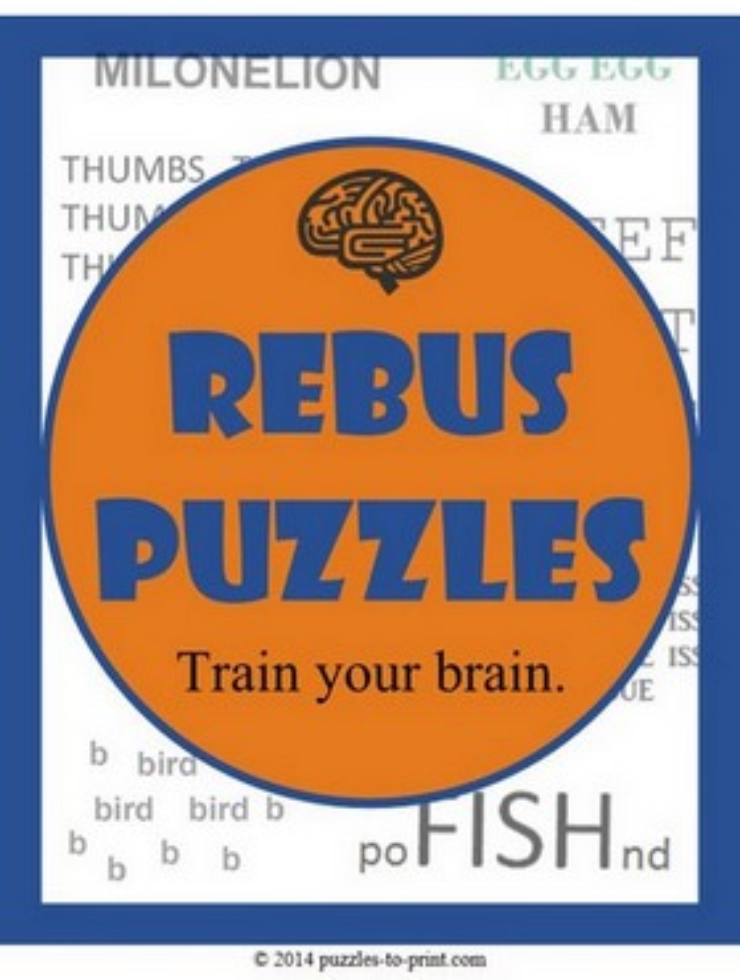 Worksheets Rebus Puzzle Worksheets rebus puzzles puzzles