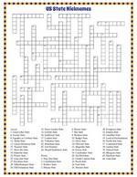 State Nicknames Crossword