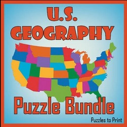 US Geography Puzzle Bundle on Teachers Pay Teachers