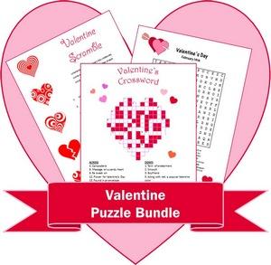 Valentine Puzzle Bundle preview
