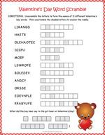 picture regarding Valentine Day Word Search Printable called Valentine Term Glimpse