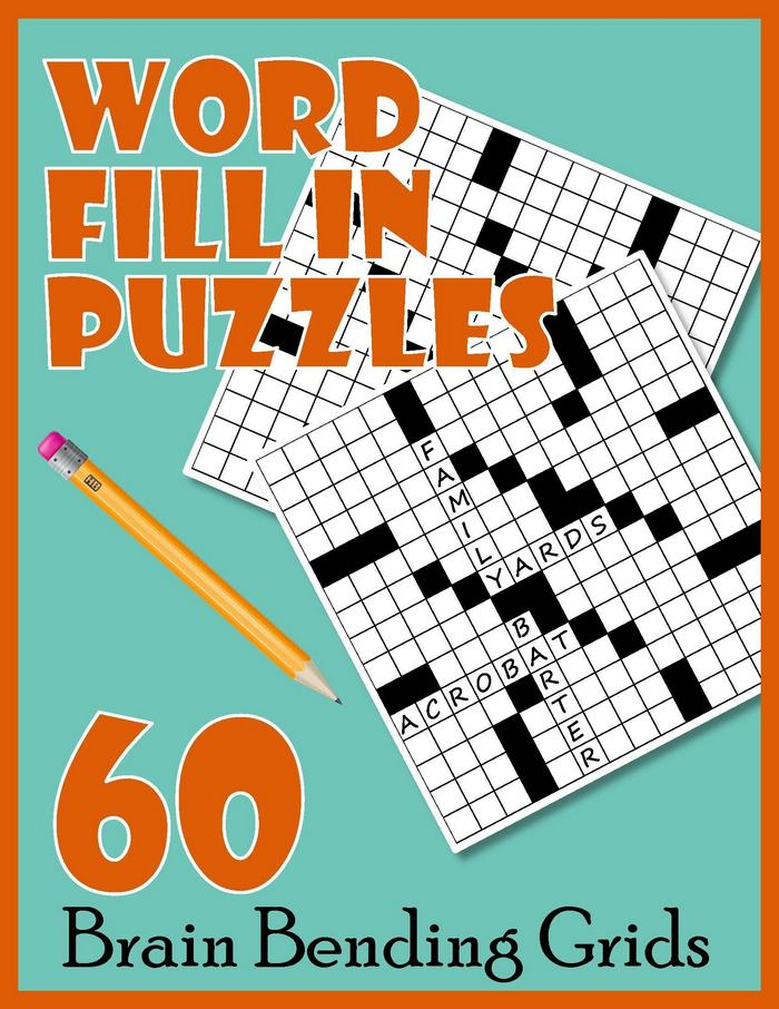 Word Fill In Puzzles A Printable Puzzle Book