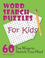 Word Search Book For Kids Cover