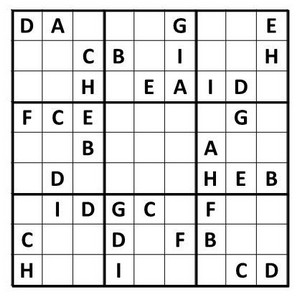photo about Printable Sudoku Medium known as Term Sudoku
